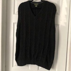 Eddie Bauer sweater vest .